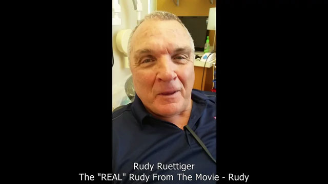 Rudy Ruettiger In Dental Chair